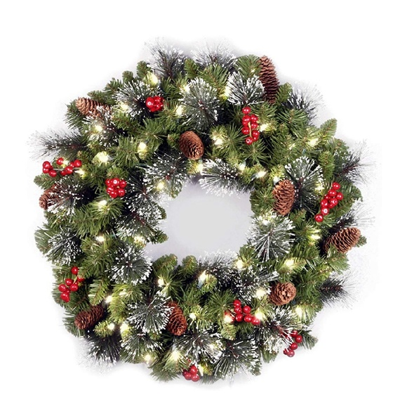 Other - National Tree 24 Inch Crestwood Spruce Wreath